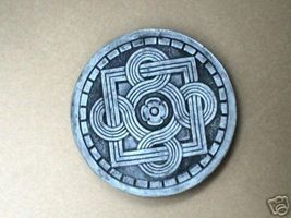 "14"" Celtic Stepping Stone Garden Mold - Buy Three 14"" Molds - Get 1 More Free! image 6"