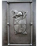 Giant Medieval Celtic English Armor Wall Plaque Mold Make Plaster Concre... - $79.99
