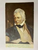 UNUSED VINTAGE POSTCARD - SIR WALTER SCOTT 1771-1832 (KK339) - $8.19