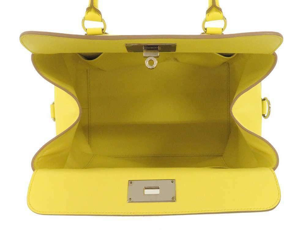 HERMES Toolbox 26 Veau Swift Soufre Handbag Shoulder Bag France #Q Authentic image 10