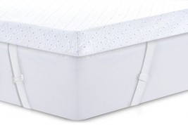 "Queen Size 3"" Gel Memory Foam Mattress Topper Cover for Adjustable Bed F... - $159.27"