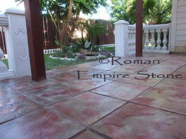 "#1818SL-B Slate Stepping Stone Square Mold Make Natural Concrete 18""x18""x1-3/4""  image 5"
