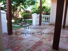 "#1818SL-C Natural Slate Texture Stepping Stone Mold Make 100s 19x19""x2.5"" Stones image 3"