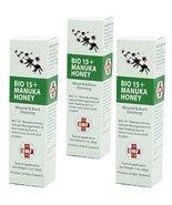 UMF 15+ Manuka Honey Wound and Burn Dressing (3 tubes) - $57.99