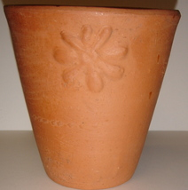 Small Terra Cotta Clay Pot from Gardener's Eden - $3.00