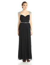 Adrianna Papell Women's Long SMJ Gown with Beading Detail - $86.88+