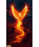Rise To Success 200 Phoenix Deity ATTRACT POWER WEALTH LUCK FAST HEALING... - $59.00