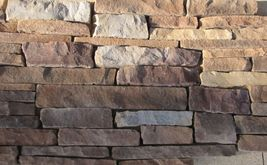 #ODF-01 Drystack Flat Faced Molds (12) Craft 100s Of Natural Cement Stone Veneer image 3
