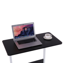 Home Can Be Raised And Lowered Mobile Computer Desk 80cm*40cm Black USA - $91.61