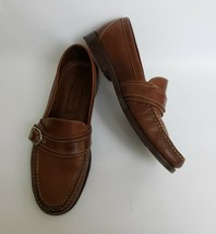 Cole Haan Shoes Brown Country Loafers Buckle Slip On Daniels Mens Size 10 N - $89.05