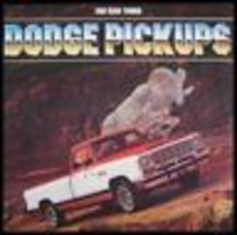 1981 Dodge Pickup Truck Brochure Ram 150 250 350 - $7.65