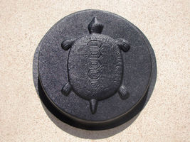 "Round Concrete Turtle Mold 16""x2"" Makes Stepping Stones For About $2.00 ... - $39.99"