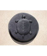 """Round Concrete Turtle Mold 16""""x2"""" Makes Stepping Stones For About $2.00 ... - $42.99"""