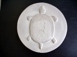 "Round Concrete Turtle Mold 16""x2"" Makes Stepping Stones For About $2.00 Each image 2"