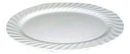New In Box Johnson Brothers White Regency 35 M Platter Serving Plate England - $79.19
