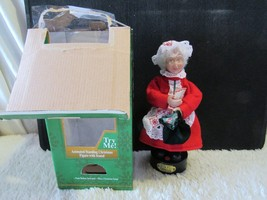 North Pole Productions Animated Figurine Mrs. Claus  - $19.95
