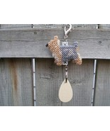 Silky Terrier dog crate tag, kennel pet art or home decor, handmade need... - $13.00
