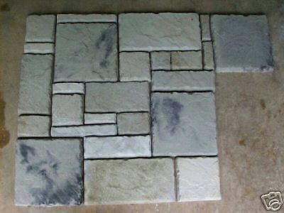 29 Castle Stone Concrete Molds Make Stone For Pavers Siding Tile Flooring Walls