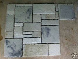 29 Castle Stone Concrete Molds Make Stone For Pavers Siding Tile Floorin... - $159.99