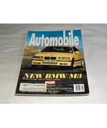 Automobile Puede 1993 Coche Revista Nuevo BMW M3 286 Bhp 249.4km/H Llega... - $9.29