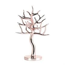 Rose Gold Finish Jewelry Tree Stand - $21.17