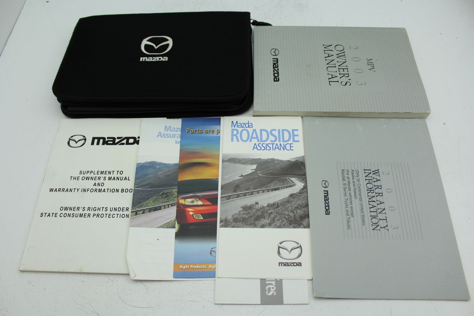 03 mazda mpv vehicle owners manual handbook and 50 similar items rh bonanza com mazda mpv 2003 owners manual pdf mazda mpv owner's manual