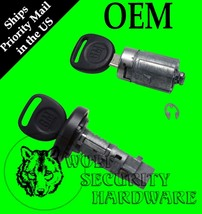 GM Ignition Key Switch Lock Cylinder & Single Door Set 709271 709273 2 GM Keys - $62.96