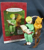 A Story For Pooh Hallmark Keepsake Christmas Ornament 2001 Christopher R... - $14.95