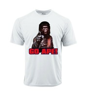 Planet Apes Go Ape Dri Fit graphic Tshirt moisture wicking 80s retro Sun Shirt image 2