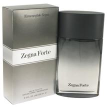 Zegna Forte Eau De Toilette Spray 3.4 Oz For Men  - $47.90