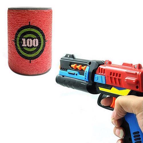 ... 6Pcs/Set Nerf Gun Target N Strike Toy Bullet Elite Soft Darts Series  Vest Bag ...