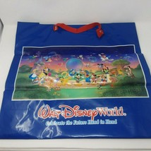 Walt Disney World 2000 Shopping Bag Fabric Handle Very Rare Large - $10.36