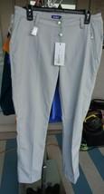 DAILY SPORTS LINDSEY PANTS COLOR: CLOUD/GREY WOMEN'S SZ 10 GOLF PANTS $139 - $49.99