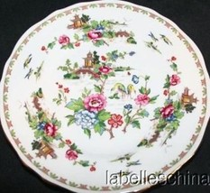 """Pagoda 6.25"""" Bread Plate Bone China Made in England by Crown Staffordshire - $19.95"""