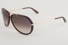 Tom Ford Cyrille Havana Gold / Brown Gradient Sunglasses TF109 28B - $263.62
