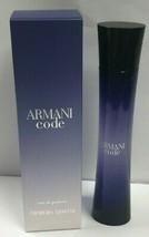Giorgio Armani Armani Code For Women 2.5 oz/ 75 ml EDP Spray New In Seal... - $73.85