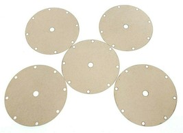 LOT OF 5 KRONES 8-F00-11-3948 PADS T=0.5 OD=141.0, 0002374726