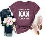 Shake Your Cotton Tail Shirt Cotton Tail Shirt Easter Shirt Easter Rabbit Shirts