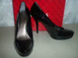 Guess New Womens Geen Black Patent Pumps 10 M Shoes - $68.31