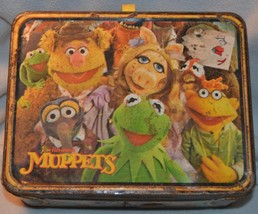 The Muppets Metal Lunchbox Fozzie Bear on Back King-Seeley Thermos Co 1979 - $23.36