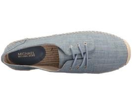 Michael Kors MK Women's Premium Hastings Lace-Up Fashion Sneakers Shoes Denim image 2