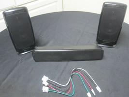 Samsung 3 speaker set 2 Front Speakers PS-FBD1250 & 1 Center Speaker PS-... - $24.75