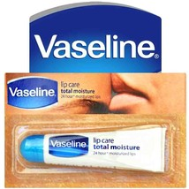 3x Vaseline-Lip Guard-VASELINE LIP CARE TOTAL-MOISTURE 10GM - $5.99