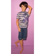 Barbie Fashionistas Ken Poseable Articulated Doll 2011 Ryan Male Boy Fri... - $35.00