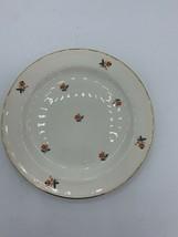 """22 KT Gold Homer Laughlin-Nautilus-CARDINAL-N211 - 6 3/8"""" Bread & Butter Plate - $5.52"""