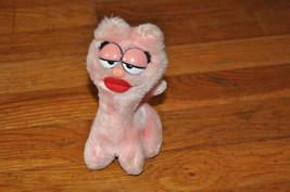 "1984 Dakin Arlene PINK Plush GARFIELD Stuffed Toy Big Lips 6""- CUTE! - $8.99"
