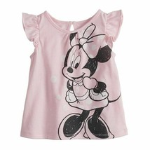 Disney's Minnie Mouse Baby Girl Flutter Sleeve Tee by Jumping Beans, 9 mo - $12.75