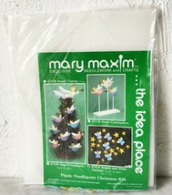 Mary Maxim Angels and Stars Needlepoint Christmas Garland  - $18.95