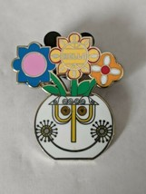 Small World Clock Potted Plant LR 2020 Flower And Garden Festival Disney... - $19.79