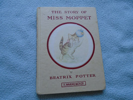 Beatrix Potter   Book The Story Of Miss Moppet  Undated - $12.34